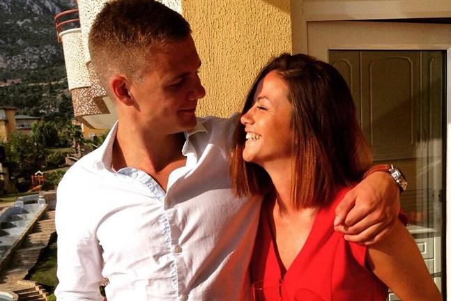 Andreas Nylund och Ivone Ruiz Olate hade en drinktävling på sin första dejt.