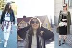 Iisa Smeds, Satu Väre och Mea Pesonen postar alla outfitbilder på sina bloggar.
