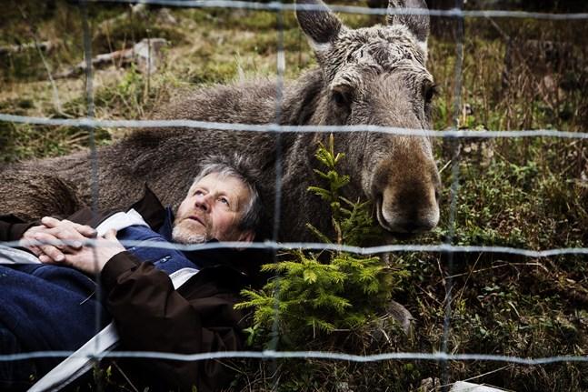 Meditation. När Mervis adoptivpappa Markku Harju lägger sig ned för att vila blir hon lugn.