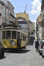 Spårvagnarna är bra färdmedel för besökaren och en av Lissabons mest kända symboler.