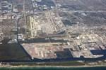 Flygfotot från april 2016 visar Fort Lauderdale-flygplatsen i Florida.