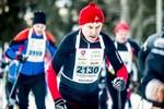 Juha Uusitalo från Suomussalmen Rasti avverkar Botniavasan i dag.