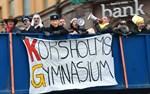 Korsholms gymnasiums lastbilsflak.