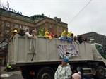 Vasa övningsskolas lastbil.