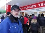 Krister Nordman hoppas att Tokmanni kommer att dra mera folk till orten.