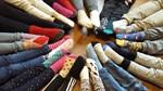 På eftis mini i Jakobstads svenska församling rockar vi sockorna idag, skriver Antonia Ström.