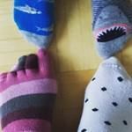 """""""Stor som liten rockar sockorna hos oss i dag. För olika är lika och för allas lika värde"""", skriver Ulrika Palén-Högdahl."""