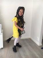 Påskbild på Valentina Andreuzza, 4år som firar påsk!