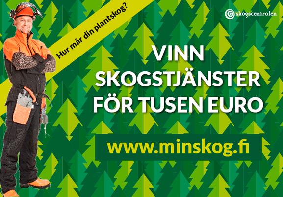 Vinn skogstjänster för tusen euro!